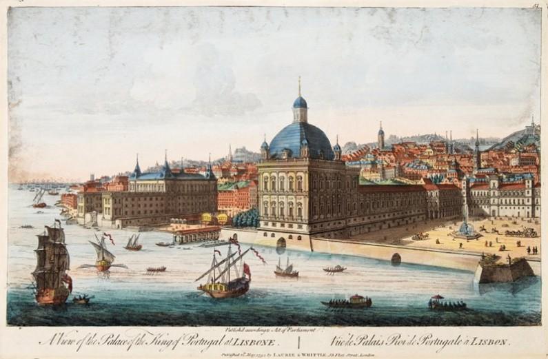 Lisbon before The Great Earthquake 1755, Engravings