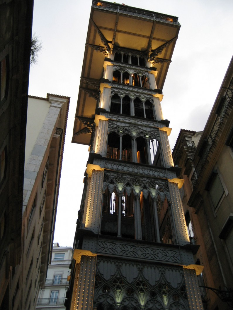 Lisbon Old Funiculars and Elevators