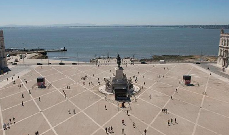 Comercio Square Arch, New Lisbon Downtown Viewpoint