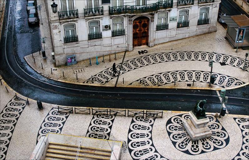Chiado, Tradicional Shopping Area, Lisbon Downtown